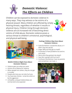 Domestic Violence: The Effects on Children