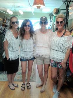4 Friends matching tops