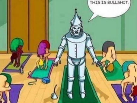 I'm Not Flexible Enough For Yoga!