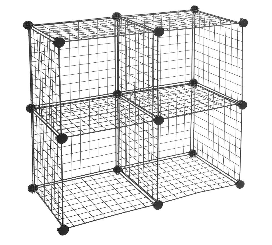 AmazonBasics 4 Cube Storage