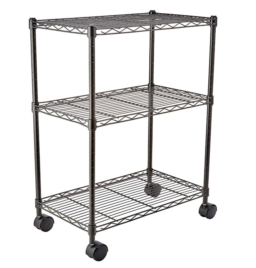 AmazonBasics 3-Shelf Shelving Storage