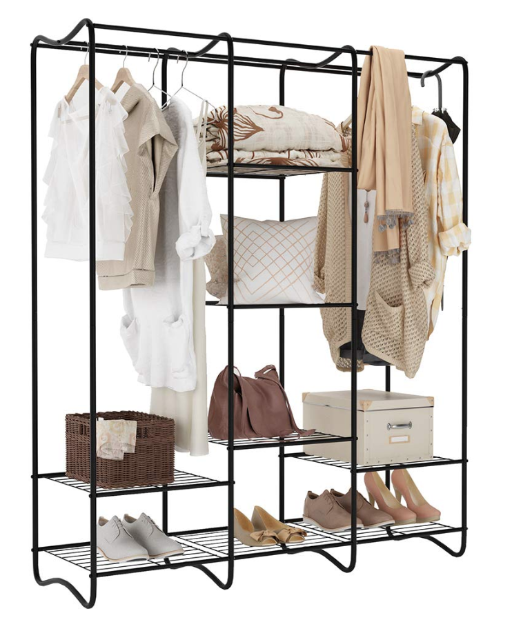 LANGRIA Free-Standing Garment Rack