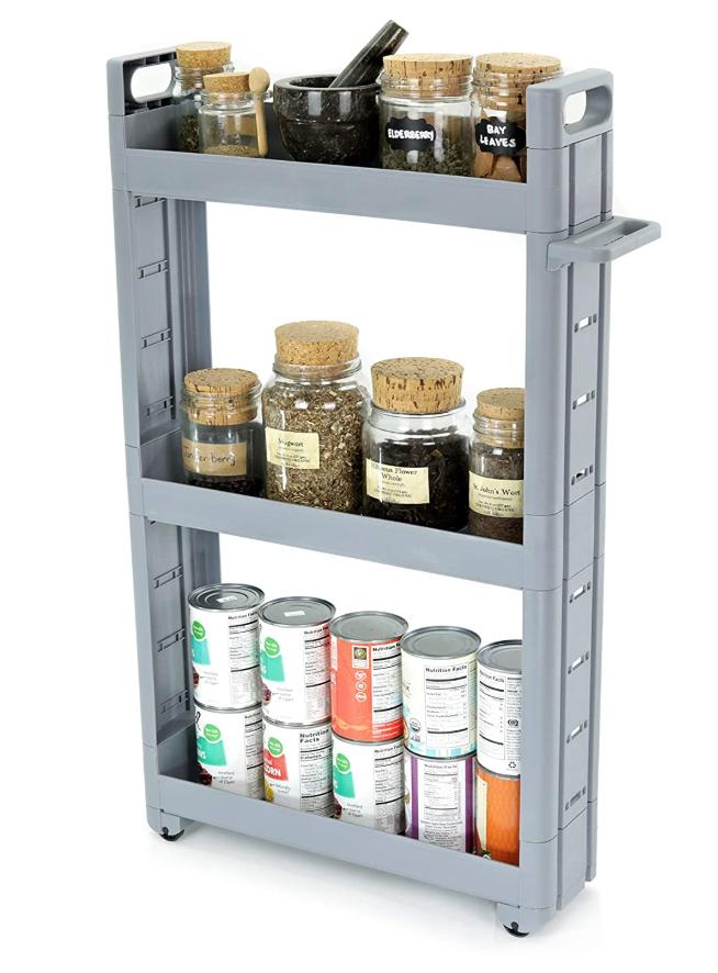 Adorn Home Essentials 3-Tier Storage Car