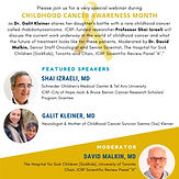 Brilliant Minds Webinar Series: Towards the Cure for Childhood Cancer