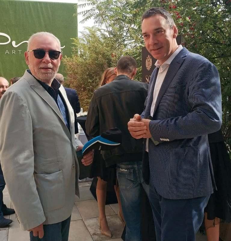 Радосвет Радев, изп.директор на Дарик радио и Димитър Николов, кмет на гр. Бургас