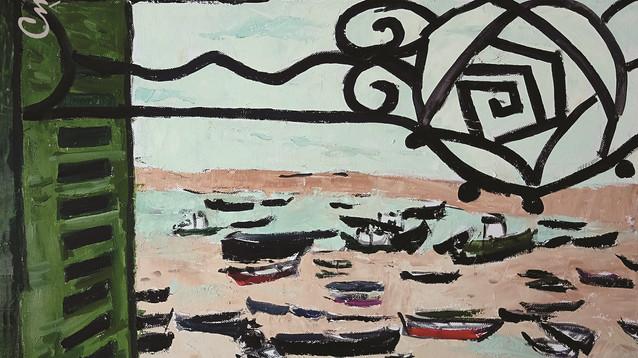 Открива се изложба живопис на Василка Монева