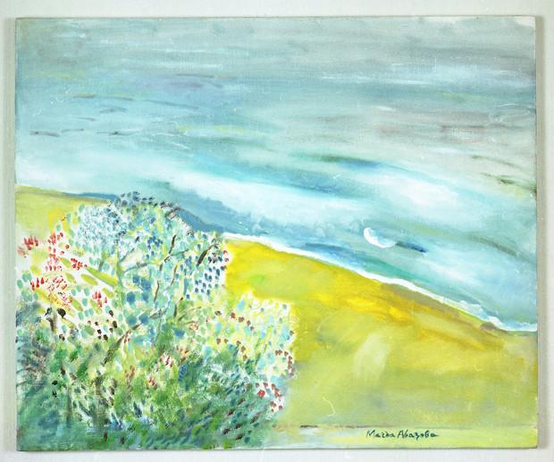 Магда Абазова БРЯГ, маслени бои, платно; 1999