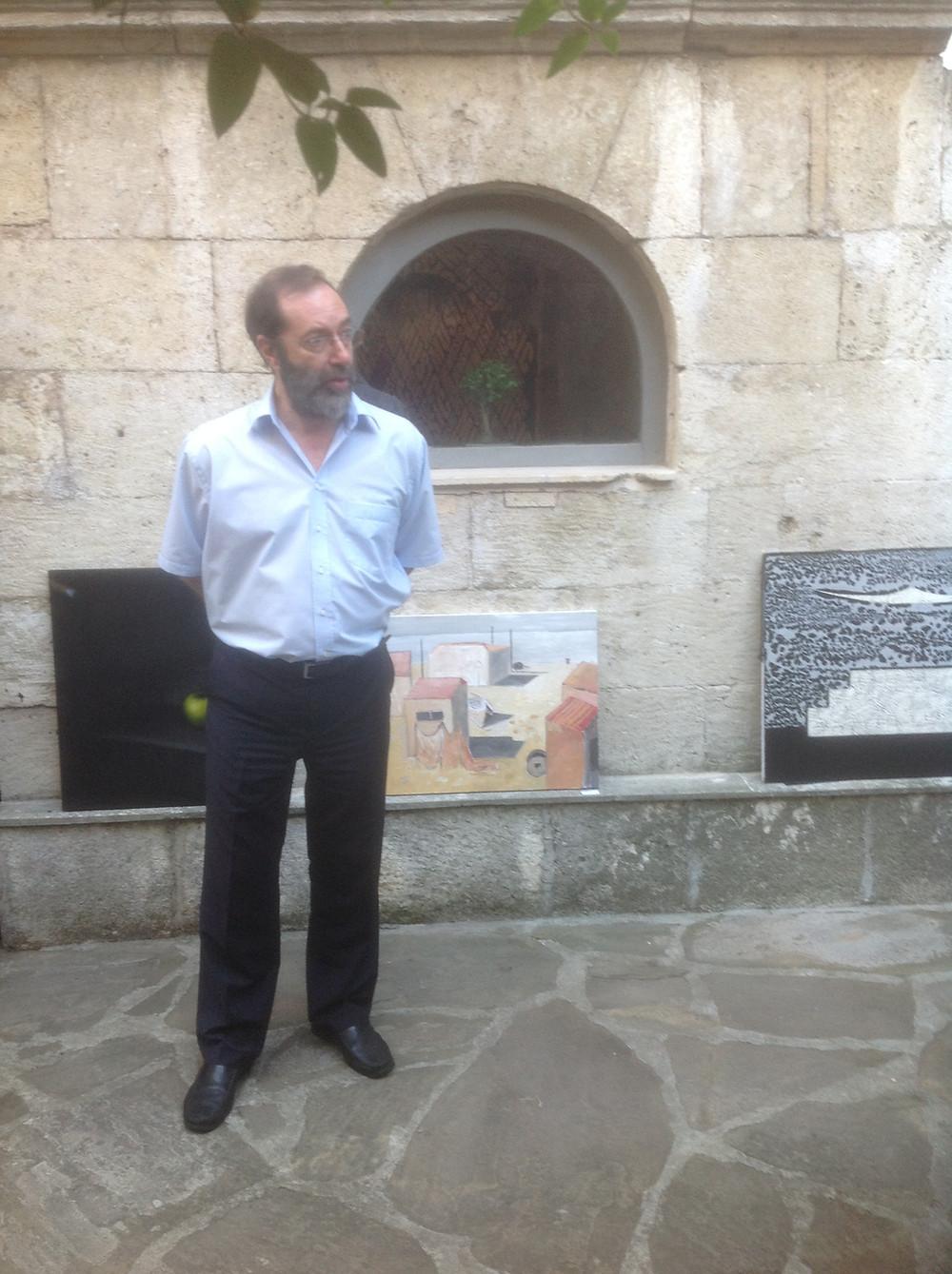 Румен Серафимов открива изложбата с пламенно слово за авторите