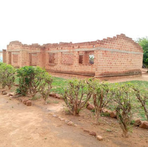 December 2020. Sikabenga school was without a roof.