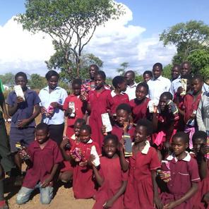 Teaching school girls and boys menstrual hygiene management