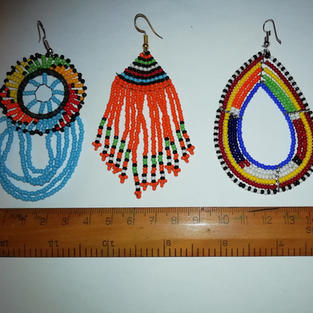 Earrings £5 pair