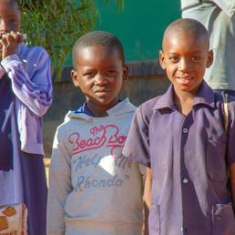 Kaumba school children