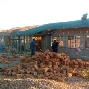 July 2021 building Luumba Moonya school