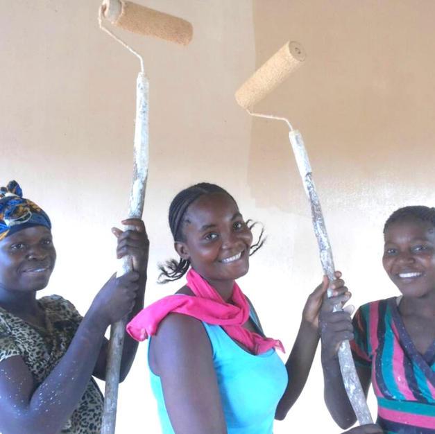 We trained 3 women builders