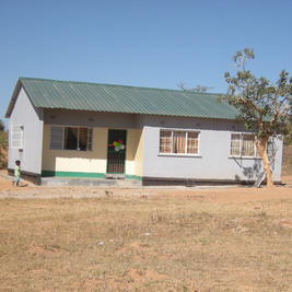 House built for a qualified Government teacher.