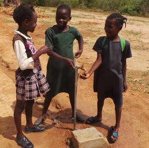 Kachindu solar pump supplies water tap water