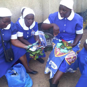 Seventh Day Adventist Church, Dorcas Mothers sewing pads