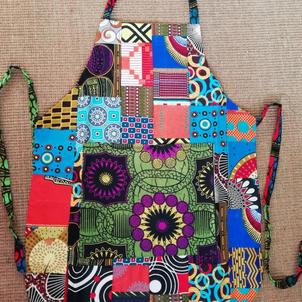 Apron patchwork reversible £10