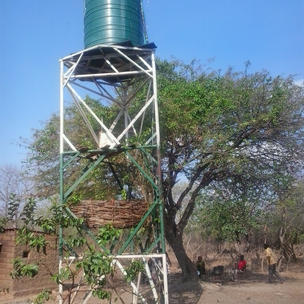 2013 we provided a solar powered water pump