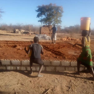 Women carried water to the builders