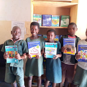 June 2021 we donated books and bookcases