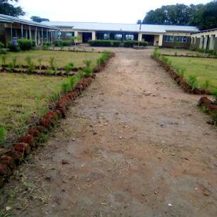 February 2021 Nabukuyu school grounds