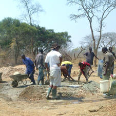 Cement making