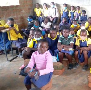 February 2021 children at  Luumba Moonya school