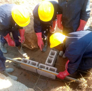 June 2021 trainee builders start work