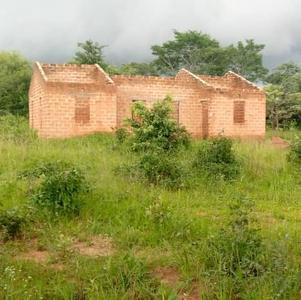 February 2012 teacher house needing a roof