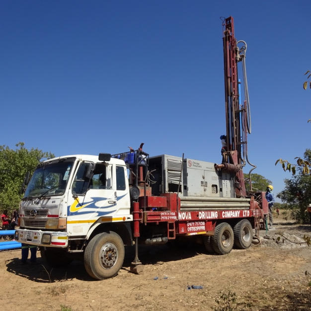 It all begins with drilling for water