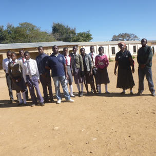 2016 Zambia women and Girls visit before training