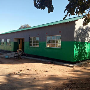 May 2021 2 classrooms ready for lessons