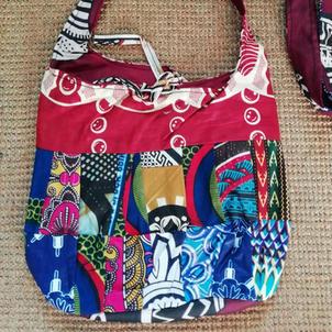 Patchwork bag £7