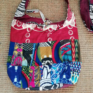 Patchwork bag £7