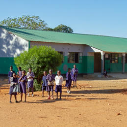 Classrooms finished September 2018