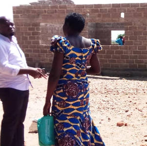 Community started building 2 classrooms