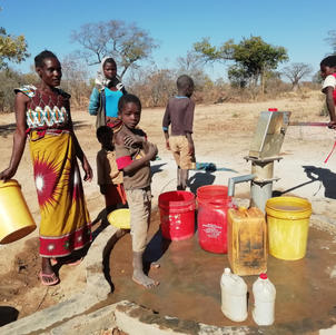 Water for the school and community