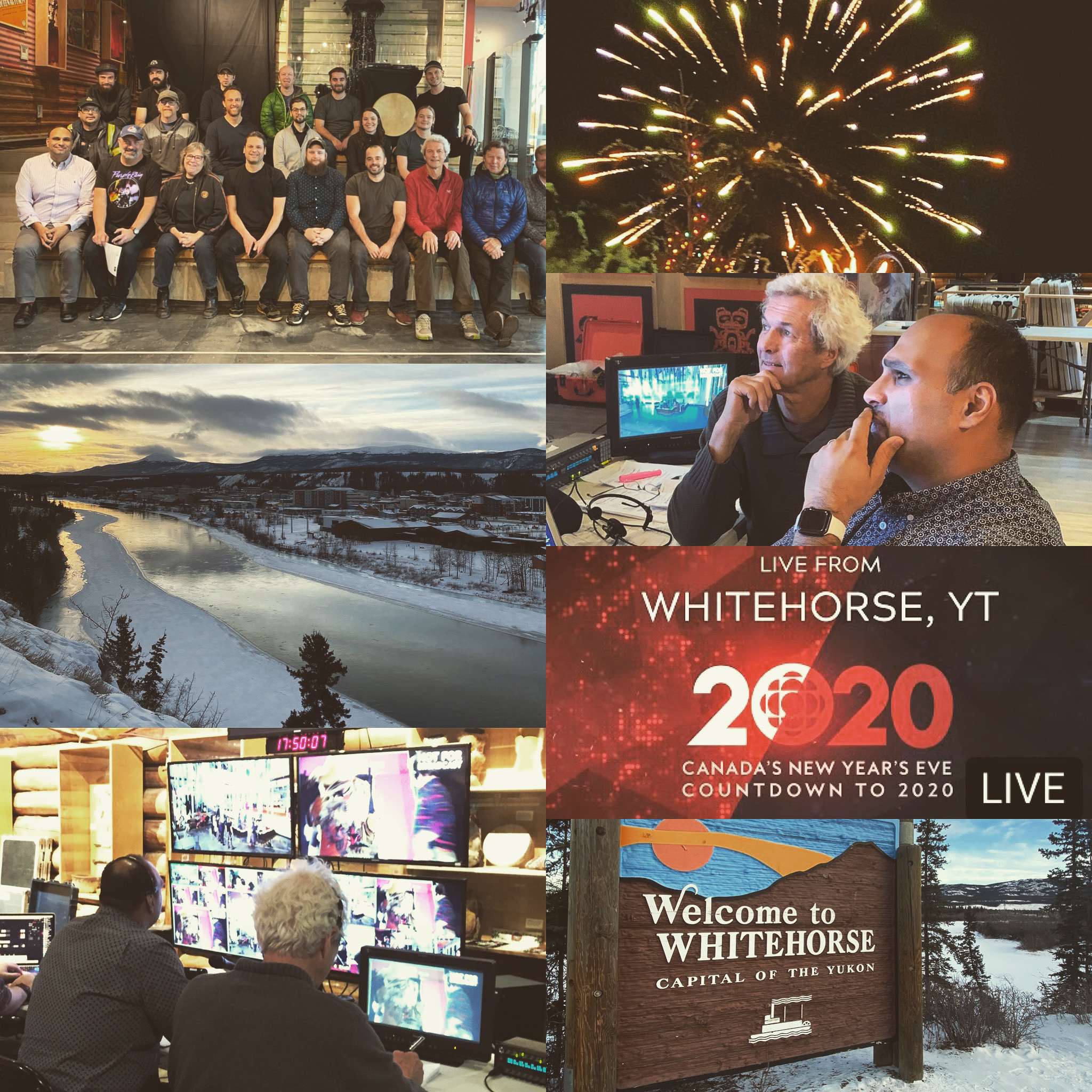 CBC NYE LIVE From Whitehorse