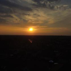 Sunset #dji #djiglobal #phantom #djiphantom #nofilter #brampton #100thFlight #moretocome #droneofthe