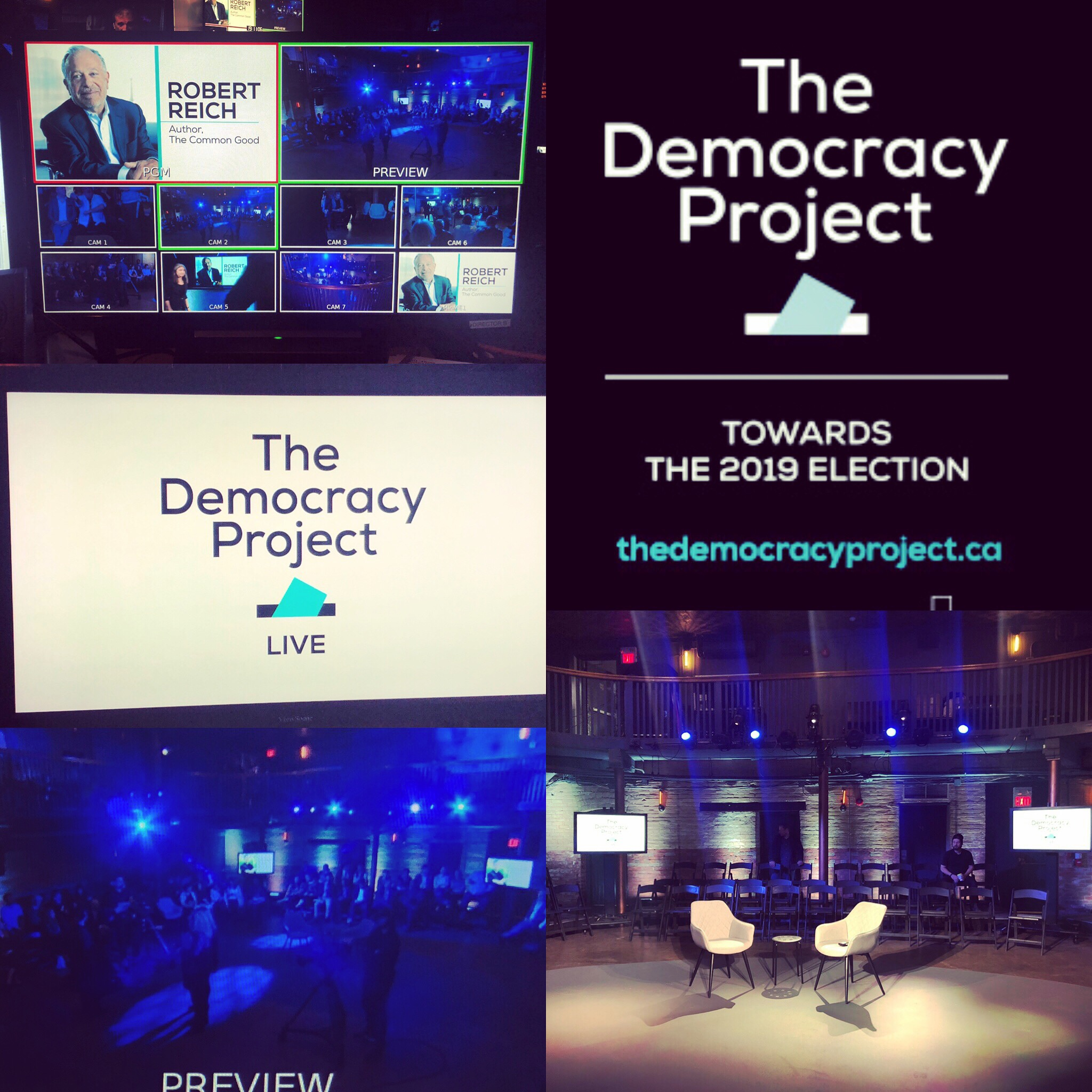 The Democracy Project Live