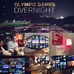 Thank you to everyone working on the Olympic project