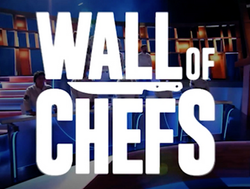 wall of chefs