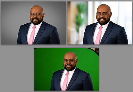 greenscreen, executive portraits