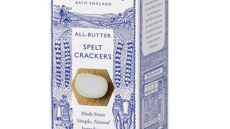 All - butter Spelt Crackers