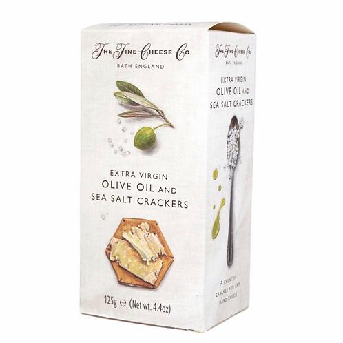 Extra Virgin Olive Oil & Sea Salt Crackers