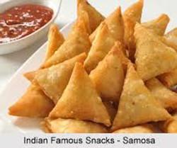 Spicy Potato Samosas