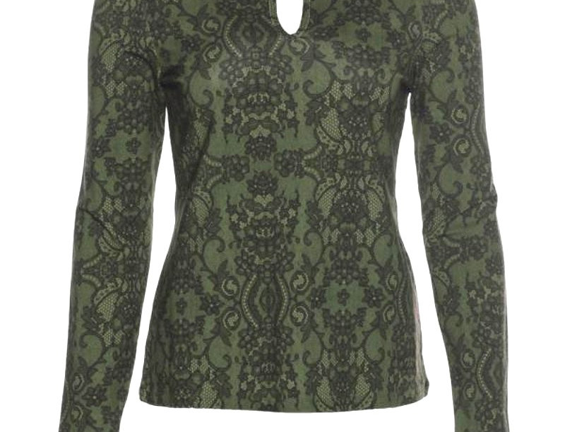 "LaLamour ""Lace"" Top Green"