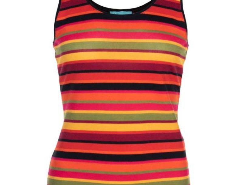 LaLamour Singlet Stripe Red