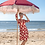 Thumbnail: LaLamour Daisy Dress Turqoise